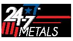 24-7 Metals logo